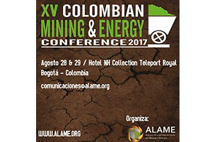 XV Colombian Mining and Energy Conference