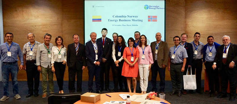 Colombia-Norway Energy Business Meeting en Medellín