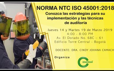 NORMA NTC ISO 45.001:2018